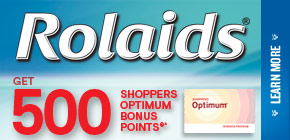 Get 500 Shoppers Optimum Bonus Points®