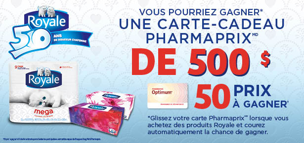 les coupons rabais gagner une carte cadeau de 500 de chez pharmaprix. Black Bedroom Furniture Sets. Home Design Ideas