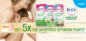 Get 5x the Shoppers Optimum points®