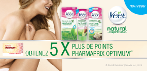 Obtenez 5 x plus de points Pharmaprix OptimumMD