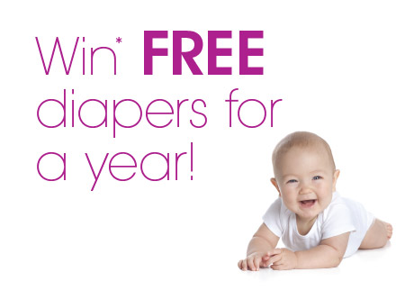 Win FREE diapers for a year!