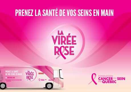 Get on board the Virée Rose!