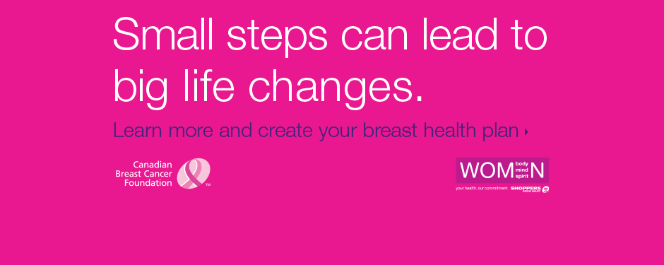 Create your breast health plan