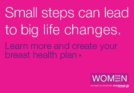 Learn more and create your breast health plan