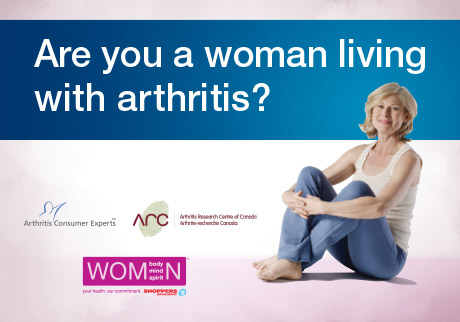 Are you a woman living with arthritis?