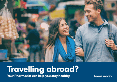 Travelling abroad?