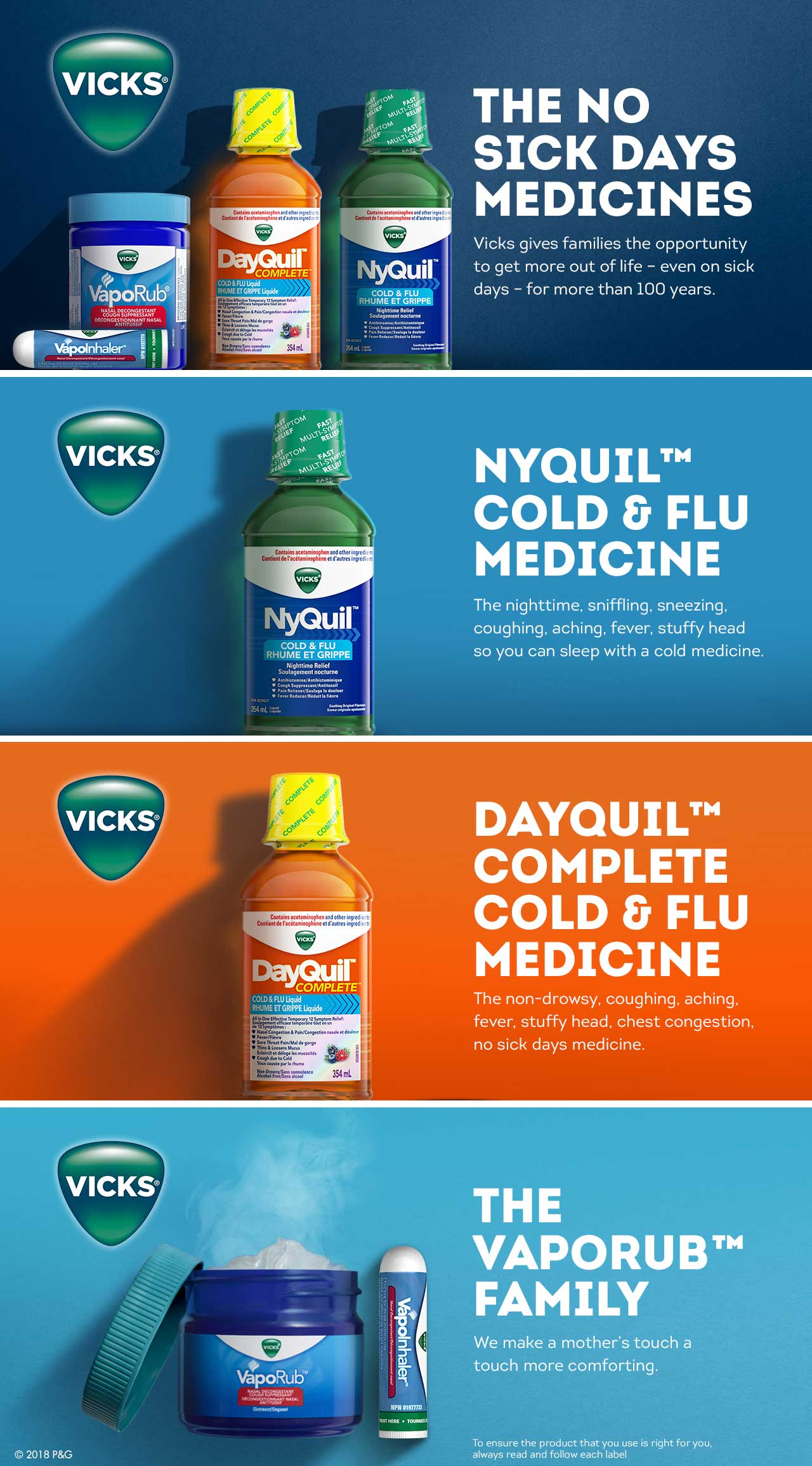 Get 1,500 bonus points* when you buy any participating Vicks® product.