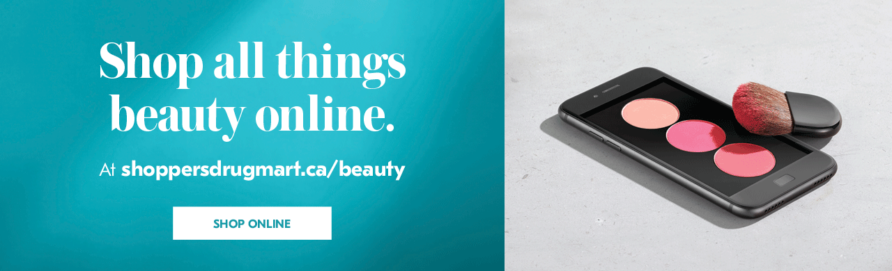 Shop all things beauty online.  At shoppersdrugmart.ca/beauty