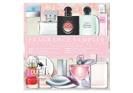 VIVABOX Fragrance Sampler & Certificate For Her
