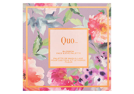 QUO Blossom Face and Eye Palette