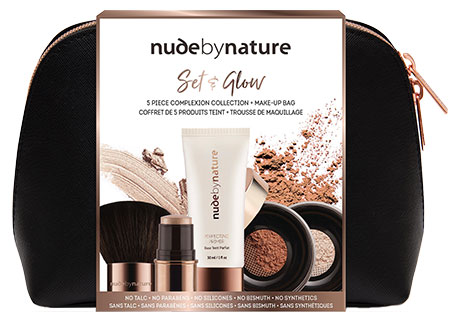 NUDE BY NATURE Set and Glow Complexion Collection