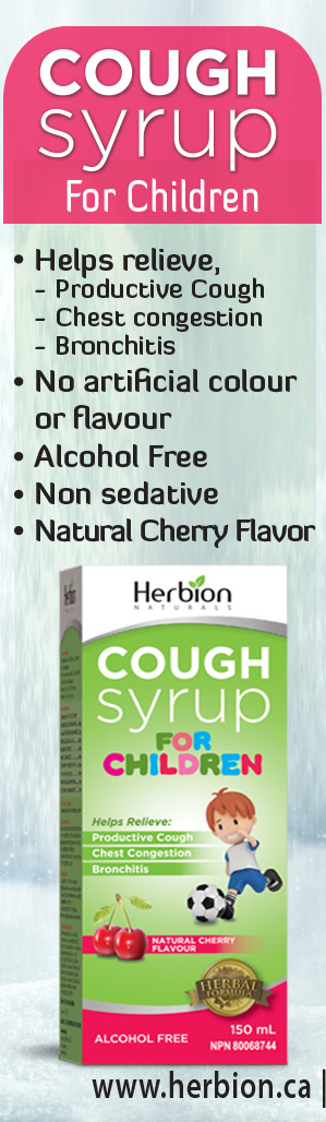 Herbion Ivy Leaf Cough Syrup is a natural expectorant for cough relief. It help loosens mucus and phlegm.