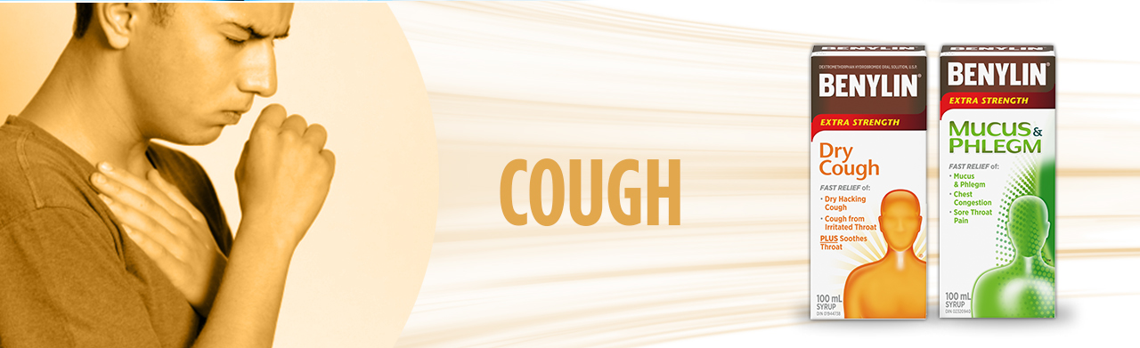 Dry Cough and Mucus & Phlegm relief from BENYLIN®.