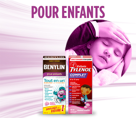 Effective cold and fever relief from BENYLIN® and TYLENOL®.