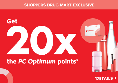 d7844310fd32 A Shoppers Drug Mart Exclusive: Saturday, June 15, get 20x the PC Optimum
