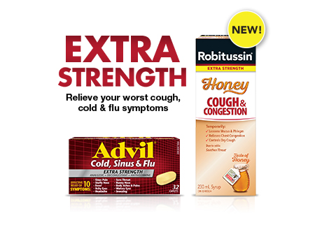 Relieve your worst cough, cold & flu symptoms. Try NEW Robitussin Honey. Be sure this product is right for you. Read and follow the label.
