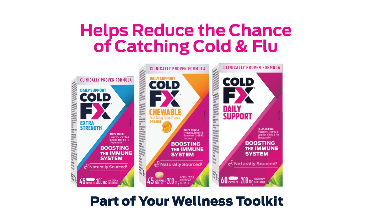 Helps Reduce the Chance of Catching Cold & Flu. COLD-FX® part of Your Wellness Toolkit