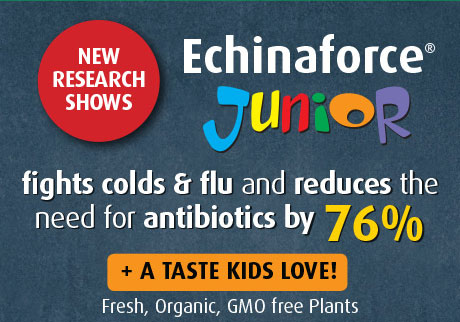 A.Vogel's Echinaforce provides effective prevention and treatment solutions for the whole family. Made with fresh, organic,GMO free plants.