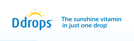 Ddrops® the sunshine vitamin in just one drop.