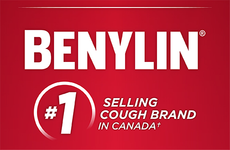 Trust BENYLIN®, Canada's #1 Selling Cough Brand