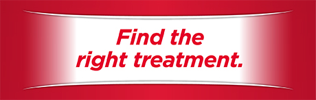 Find the right treatment.
