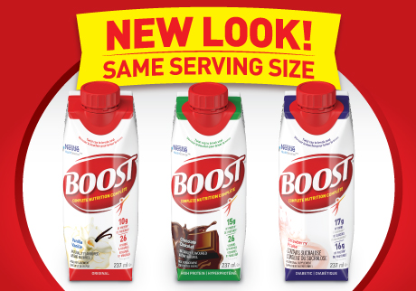 Boost complete nutrition with guaranteed great taste! Now easier to open.*