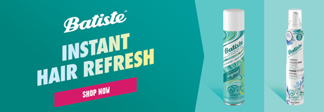 Instant hair refresh for all hair types! Try Batiste Original dry shampoo or for normal to dry hair, try Batiste Coconut Milk waterless foam. Shop now.