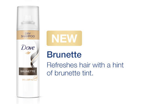 Brunette • Refreshes hair with a hint of brunette tint.