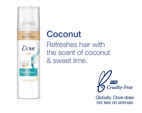 Coconut: •Refreshes hair with the scent of coconut & sweet lime.