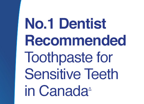 Number 1 Dentist Recommended Toothpaste for Sensitive Teeth in Canada.