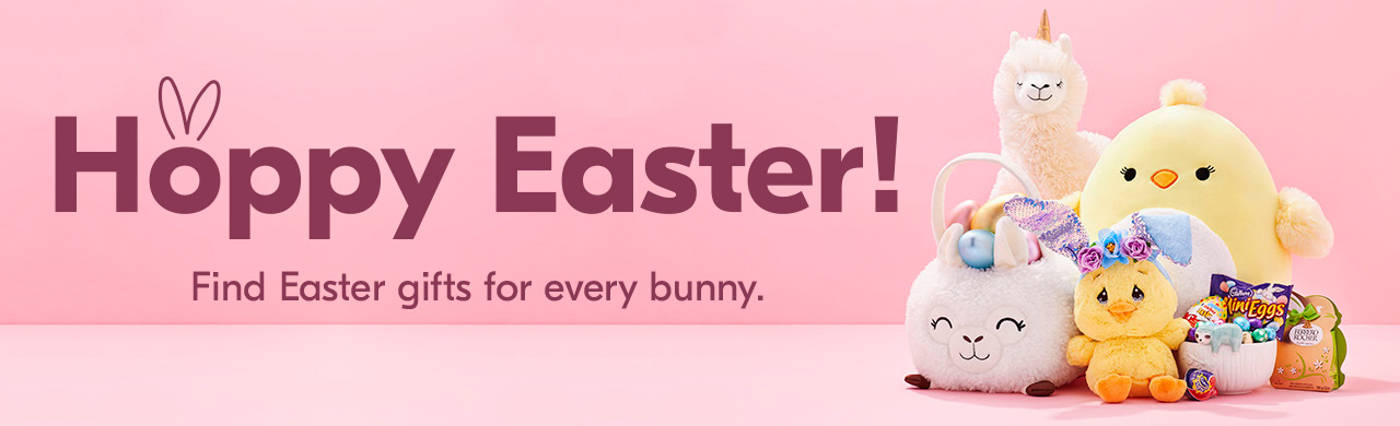 Happy Easter. Hoppy Easter! Find Easter gifts for every bunny.