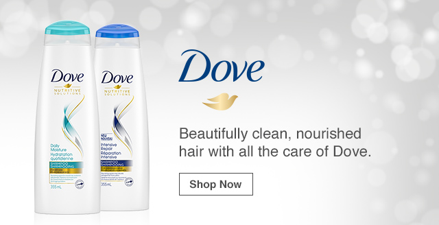 Dove: Beautifully clean, nourished hair with all the care of Dove. Shop Now.