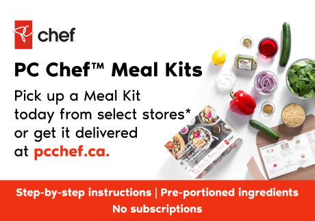 PC Cher Meal Kits. Pick up a Meal Kit today from select stores or get it delivered at pcchef.ca