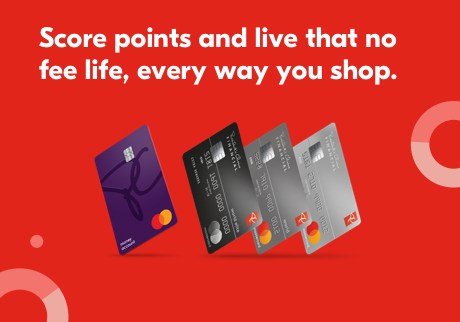 Score points and live that no fee life, every way you shop.