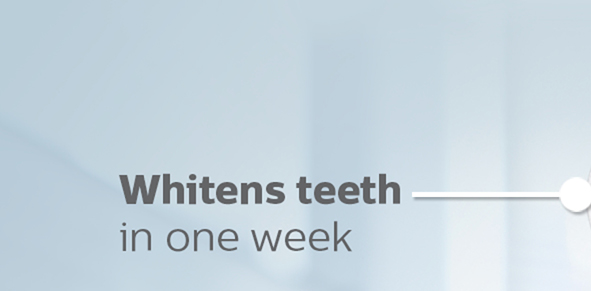Whitens teeth in one week Number 1 Dental Professional recommended sonic toothbrush brand worldwide