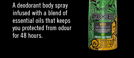 A deodorant body spray infused with a blend of essential oils that keeps you protected from odour for 48 hours.