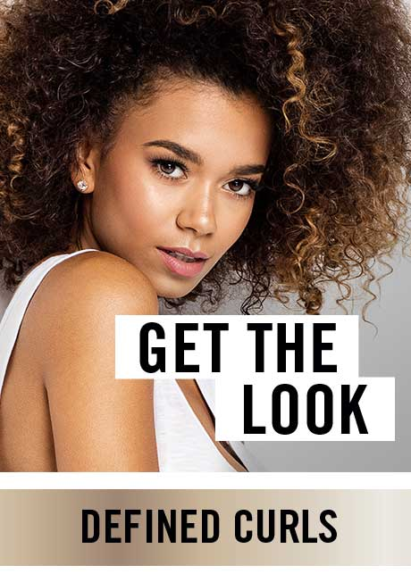 GET THE LOOK: DEFINED CURLS