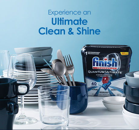 Each tab is desgined to scrub, degrease and shine, giving you an ultimate clean without needing to pre-rinse.