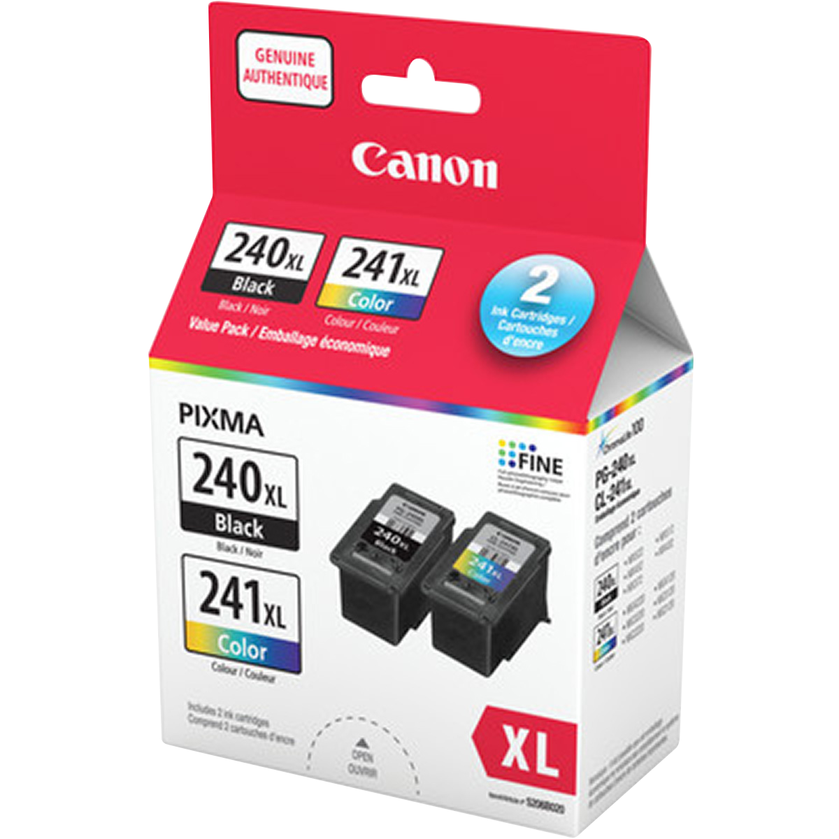 PG-240XL & CL-241XL Ink Cartridges
