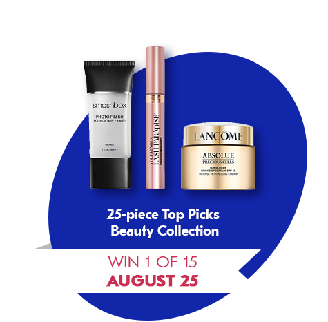 Win 1 of 15 August 25 25-piece Top Picks Prize Pack