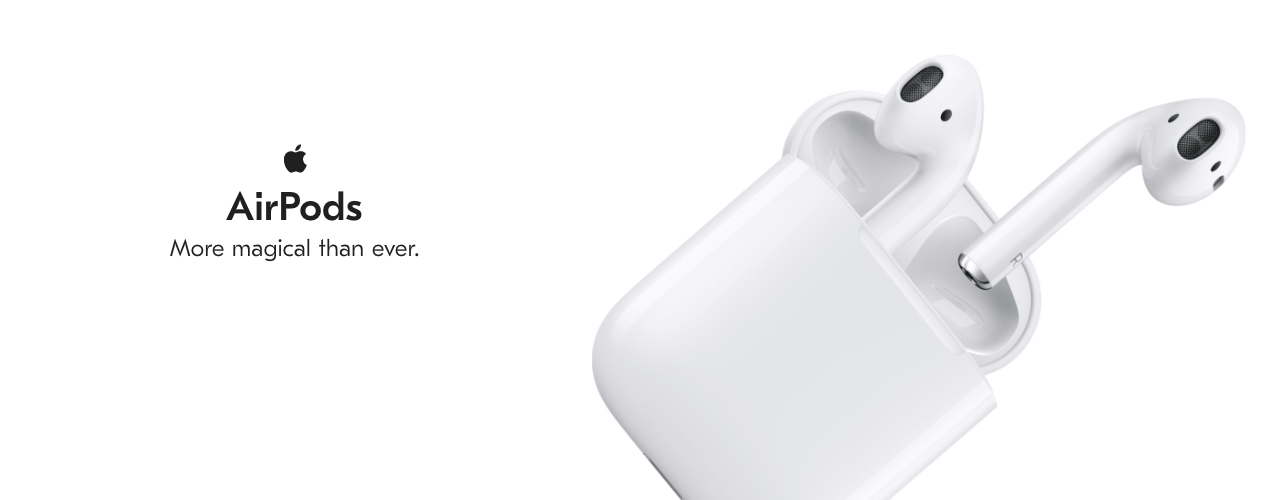 AirPods hero image