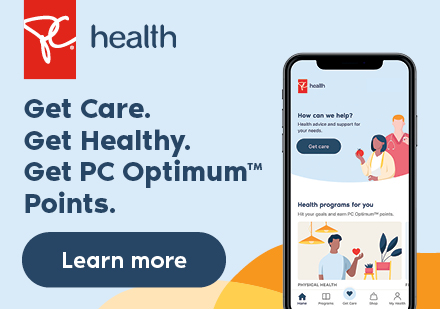 get care. get healthy. get pc optimum points.