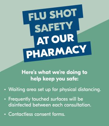 Flu Safety at the Pharmacy