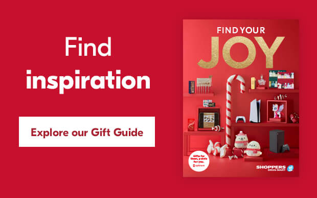 Find inspiration. Explore our Gift Guide.