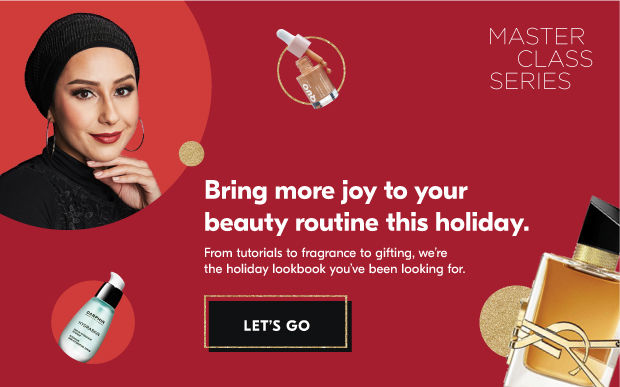Bring more joy to your beauty routine this holiday. Let's go.