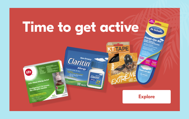 Time to get active. Explore.