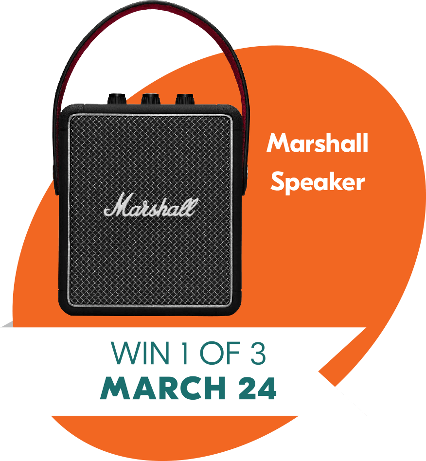March 24 win 1 of 3 Marshal Speaker Prizes