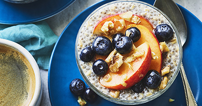 Overnight Steelcut Oats With Chia