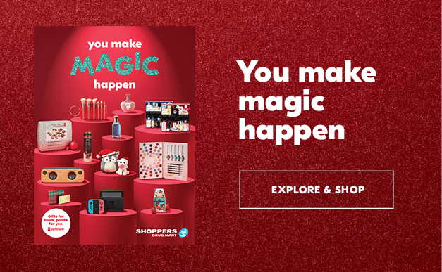 You make magic happen.  Explore & Shop